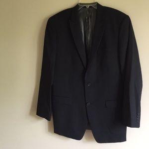 Calvin Klein 42L 100% Wool Sport Coat/Blazer